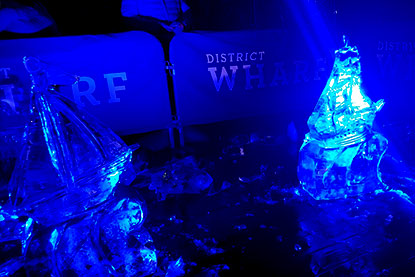 DC live ice sculpting